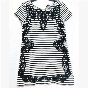 Anthropologie   9-H15   Stripped mini dress